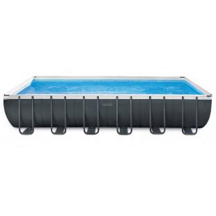 Bazén Ultra XTR Frame obsahuje komplexný balíček kľúčových doplnkov pre váš bazén.Ak si kúpite bazén Intex Ultra Frame, získate bazén najvyššej kvality! Bazén, ktorý vám zaručuje letné kúpanie vo vlastnej záhrade. Oceľová konštrukcia pre ešte väčšiu stabilitu. Okrem toho je film z bazéna Intex Ultra Frame extrémne zosilnený.Skladá sa z dvoch silných a trvanlivých vonkajších vrstiev PVC fólie a medzivrstvy z odolného polyesterového polystyrénu. Na vonkajšej strane bazéna je tiež pás, ktorý udržuje tvar steny.