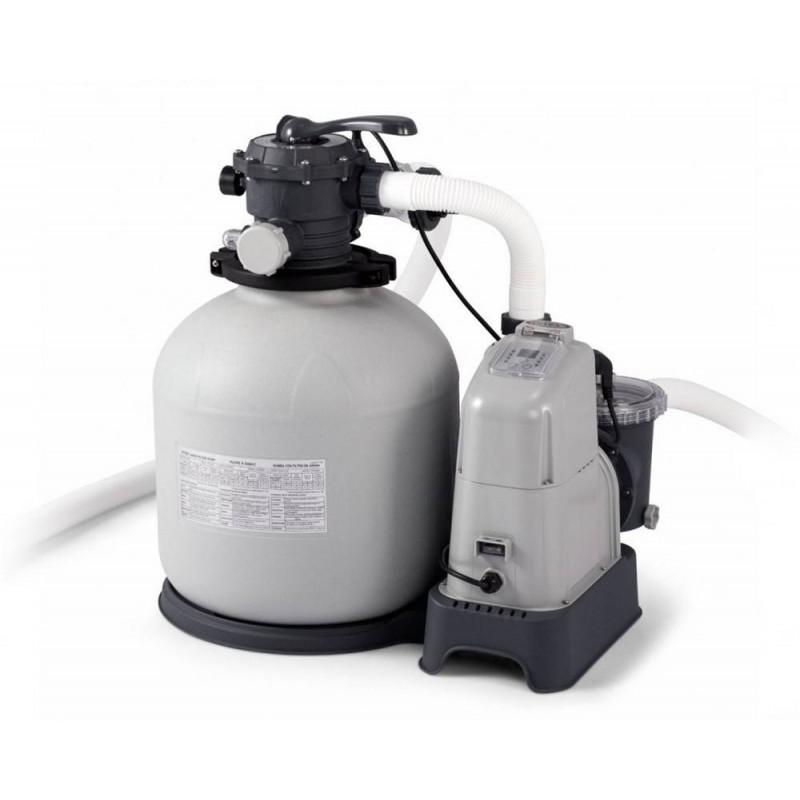 INTEX piesková filtrácia so systémom slanej vody Krystal CLEAR® 10 m³ 28680
