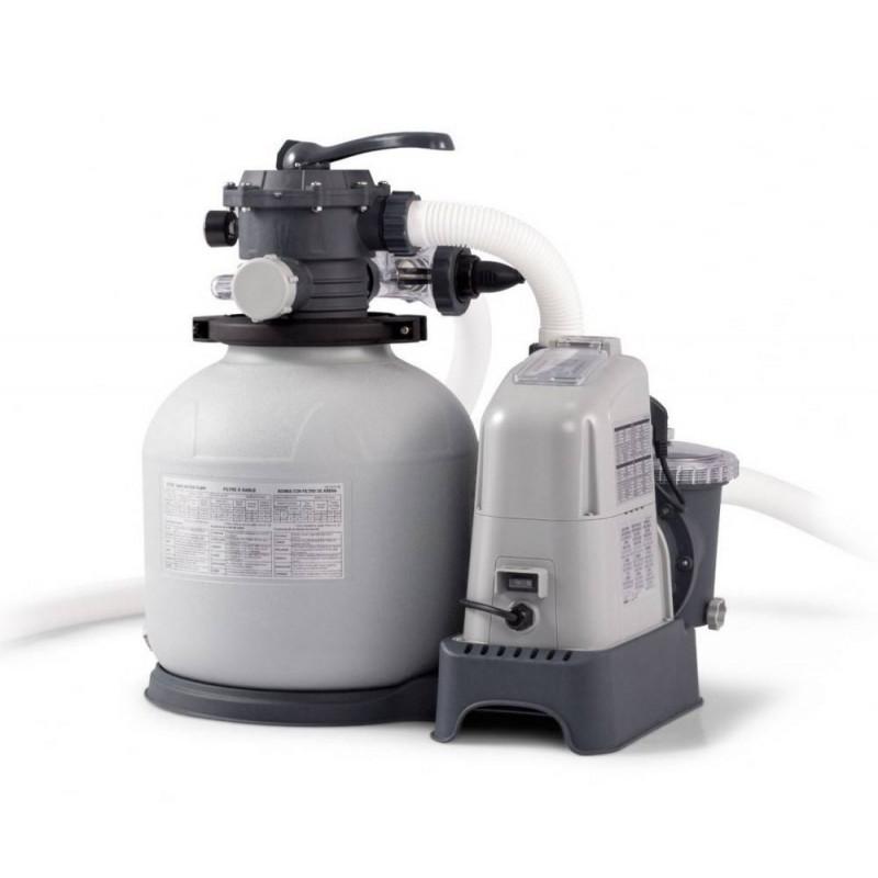 INTEX piesková filtrácia so systémom slanej vody Krystal CLEAR® 6 m³ 28676