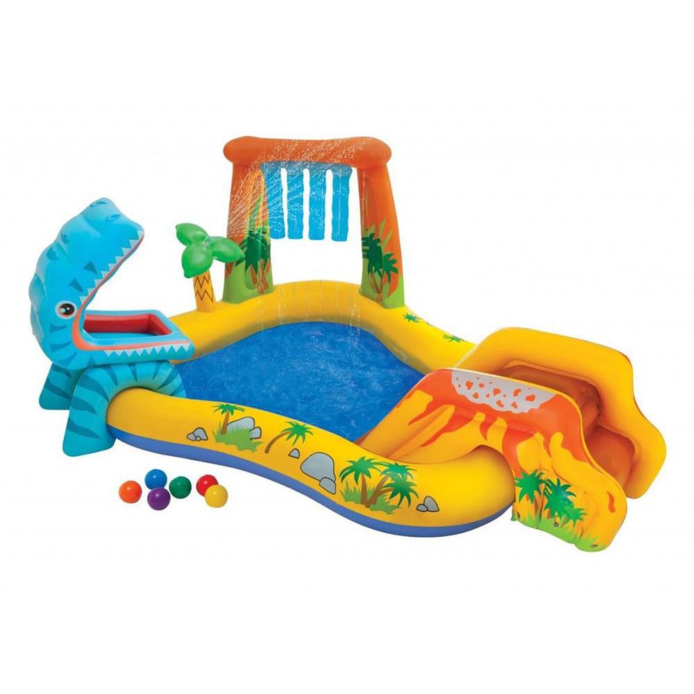 INTEX detský bazénik Dinosaurus 249x191x109 cm 57444