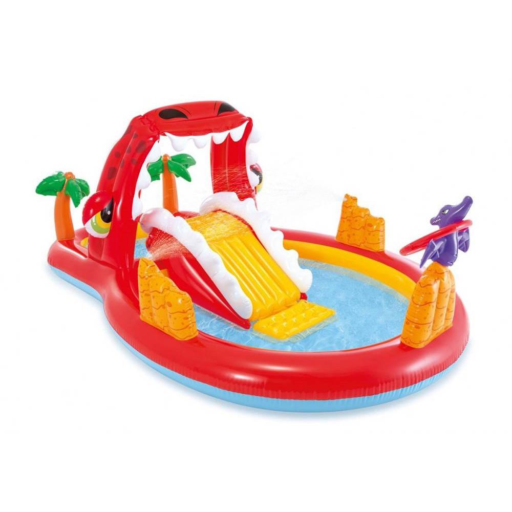 INTEX detský bazénik Happy Dino 259x165x107 cm 57160