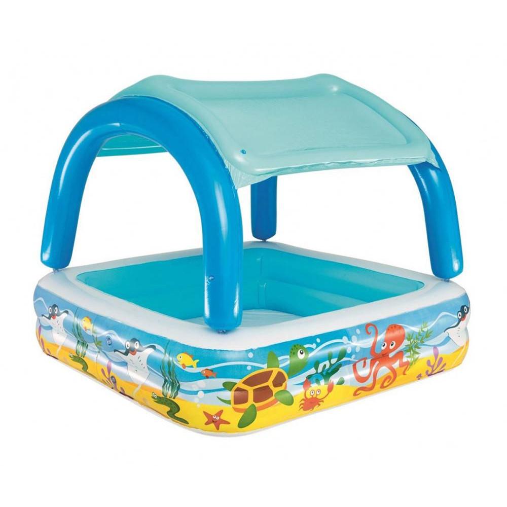 BESTWAY detský bazénik koralový útes 147x147x122 cm 52192