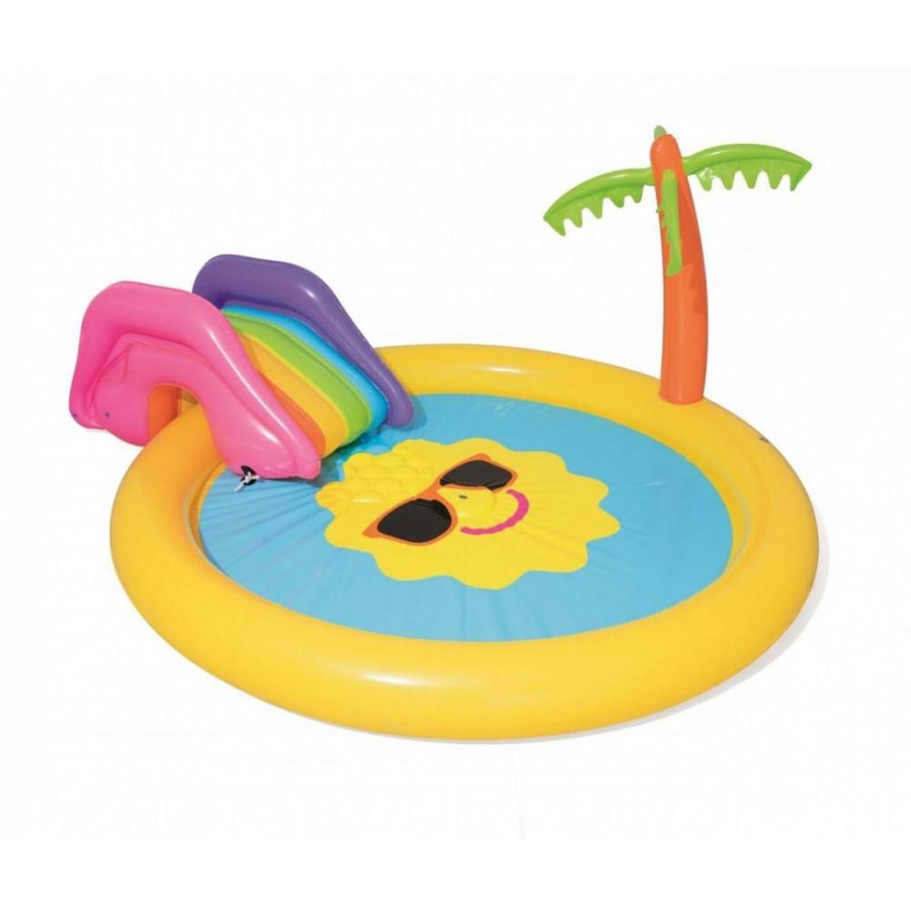 BESTWAY detský bazénik Slnko 237x201x104 cm 53071