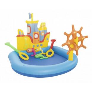 BESTWAY detský bazénik lodička 52211