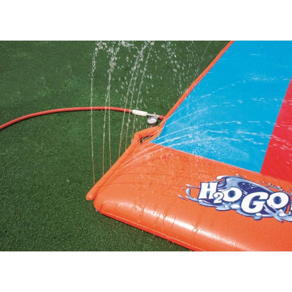 Bestway dvojitá šmykľavka H2O GO 549cm 52248