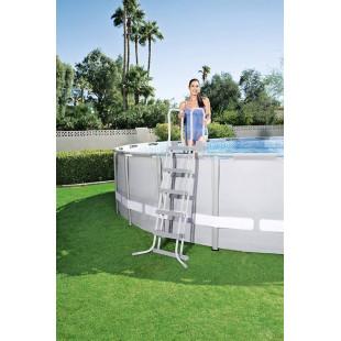 Nadzemny bazen BESTWAY Power Steel 427x122 cm + filtrácia 6v1 56444