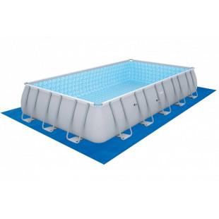 Nadzemny bazen BESTWAY Power Steel 671x366x132 cm piesková filtrácia 56471