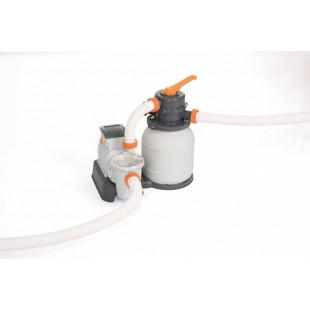 Nadzemny bazen BESTWAY Power Steel 732x366x132 cm + piesková filtrácia 56475 - nová generácia TRITECH™