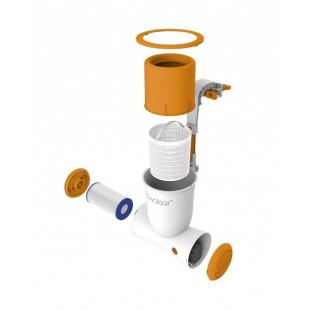 Nadzemny bazen BESTWAY Power Steel Rattan 427x107 cm filtrácia FLOWCLEAR ™ SKIMATIC ™ 56664