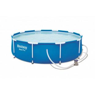 Nadzemny bazen BESTWAY Steel Pro 305x76 cm + filtrácia 56679