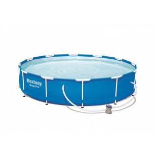 Nadzemny bazen BESTWAY Steel Pro 366x76 cm + filtrácia 56681