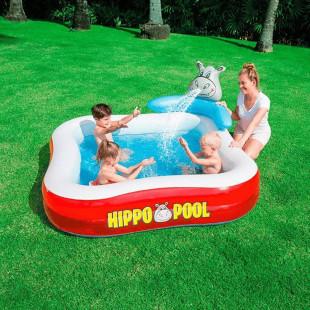 BESTWAY detský bazénik Hippo Play Center 53050