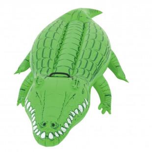 Nafukovací krokodýl, ktorý Vám poskytne príjemnéležanie, sedenie a relaxovanie. Nafukovačka má dĺžku 167 cm a je dostupná v krásnej farebnej kombinácii reálneho krokodýla. Vhodná pre 1 osobu do 81 kg.
