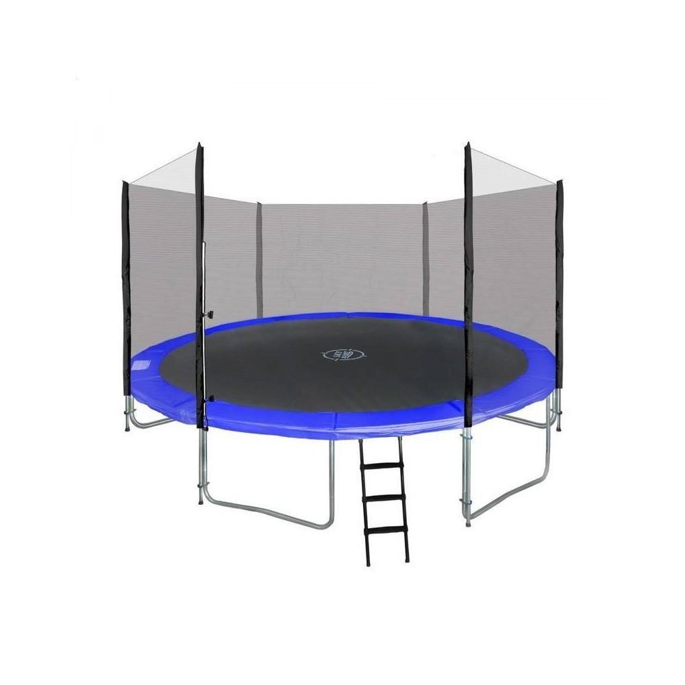Trampolína SKY 487 cm + ochranná sieť + schodíky