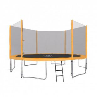 Trampolína SKY 427 cm + ochranná sieť + schodíky