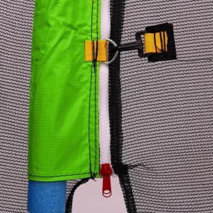 Trampolína SKY 244 cm + ochranná sieť + schodíky
