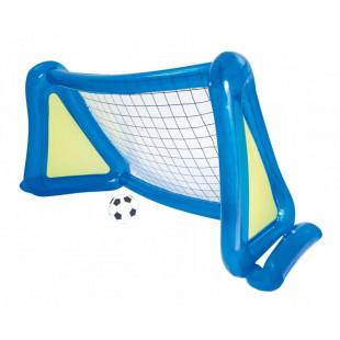 Futbalová bránka vyrobená z kvalitného plastu PVC, určená pre rekreačné použitie. Súčasťou balenia je aj futbalová sieť, ktorá sa k rámu pripevňuje. Futbalová bránka je predovšetkým vhodná pre vonkajšie použitie na trávnaté plochy.