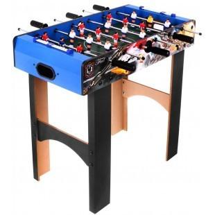 Cieľom hry je streliť viac gólov ako súper.Lopta je ovládaná pomocou žiabier, ku ktorým sú pripevnené figúrky hráčov (biela a červená a žltá námornícka), ktoré je možné ťahať alebo tlačiť alebo otáčať, čo spôsobuje: ťahanie figúrok z danej žiabre smerom k vám (napravo od hracieho poľa), tlačenie postavičiek preč (zvnútra von z hry) a kopanie figúriek.Ihrisko je rozdelené do 3 zón - obrana, pomoc a útok.Prechádzanie touto zónou znamená prechod od obrany k útoku alebo naopak.V obrannom pásme musíte zablokovať súperovu strelu a vykopnúť loptu do útočnej zóny alebo priamo strieľať súperovu bránu.V útočnej zóne musíte streliť gól a po jej možnej strate sa pokúste zabrániť súperovi opustiť túto zónu.