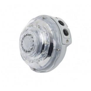 Perfektný doplnok každej vírivky. LED svetlofunguje perfektne ako doplnok k bazénom PureSpa. Tento doplnkový produkt spoločnosti Intex umožňuje vychutnať si relaxačný kúpeľ so svetelnými efektmi a to všetko s veľmi jednoduchou inštaláciou.