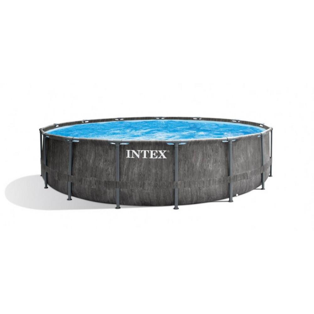 INTEX GREYWOOD Prism Frame Premium 457x122 cm + filtrácia 26742NP
