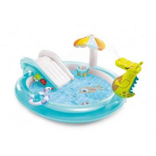 INTEX detský bazénik s krokodýlom 201x170x84 cm 57165NP