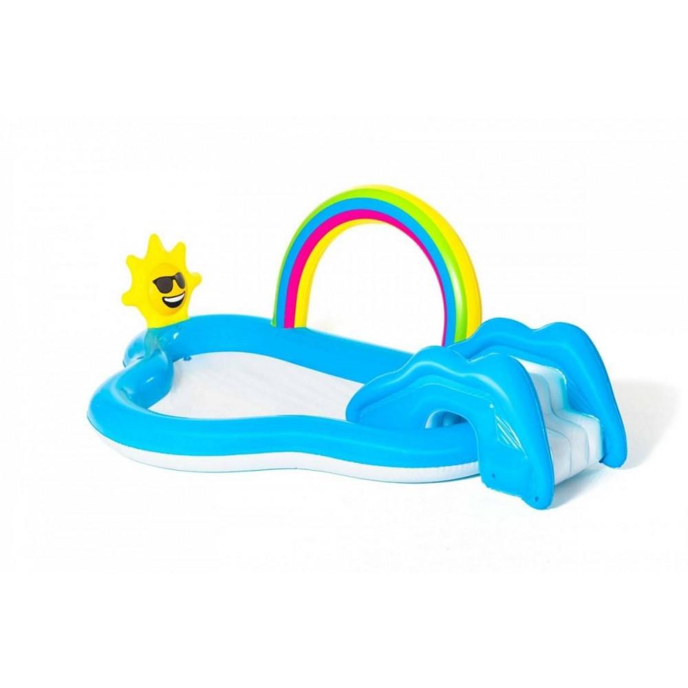 BESTWAY detský bazénik Slnko 257x145x91 cm 53092