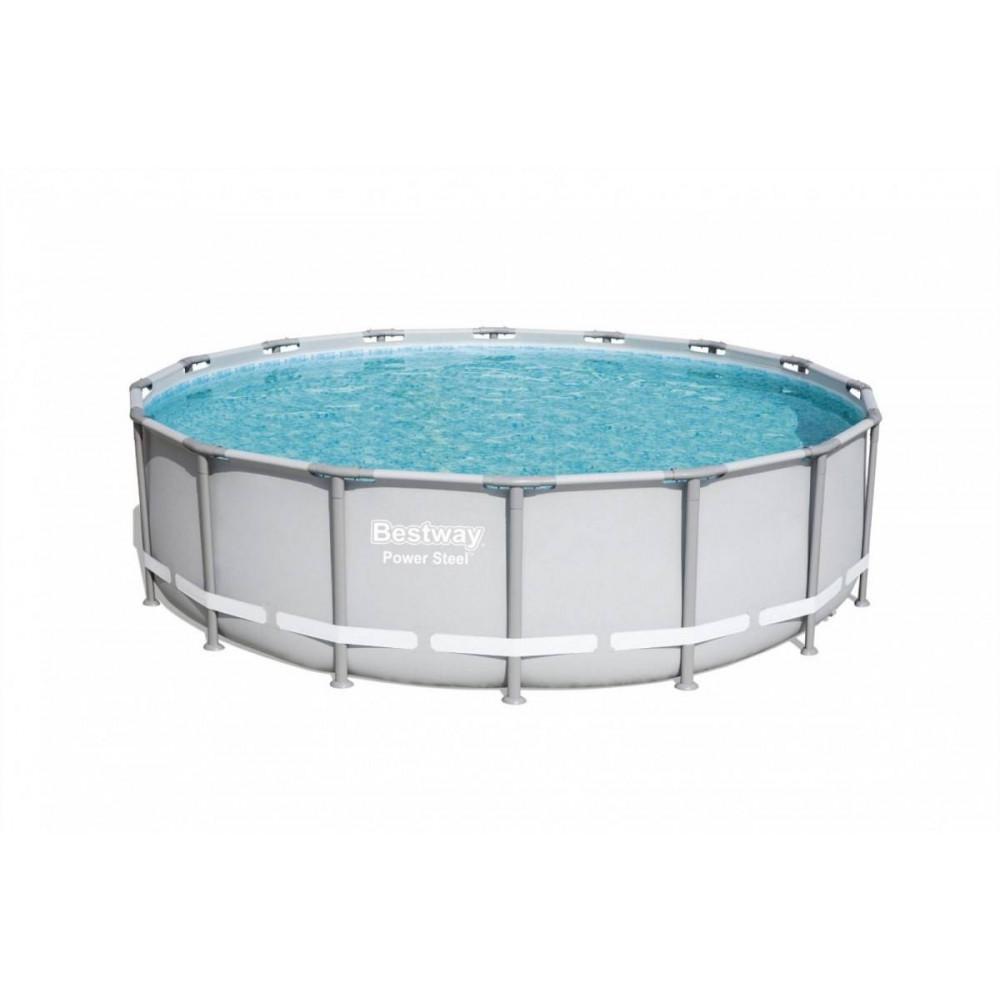 BESTWAY Power Steel 488x122 cm + filtrácia 56451