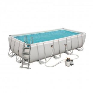 Bazén Power Steel novej generácie obsahuje komplexný balíček kľúčových doplnkov pre váš bazén s najnovšou technológiou TRITECH™. Bazén, ktorý vám zaručuje letné kúpanie vo vlastnej záhrade. Oceľová konštrukcia pre ešte väčšiu stabilitu. Okrem toho je film bazéna extrémne zosilnený. Skladá sa z dvoch silných a trvanlivých vonkajších vrstiev PVC fólie a medzivrstvy z odolného polyesterového polystyrénu. Na vonkajšej strane bazéna je tiež pás, ktorý udržuje tvar steny.