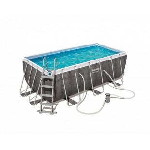 Nadzemny bazen BESTWAY Power Steel 412x201x122 cm s filtráciou 56722