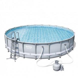 Nadzemny bazen BESTWAY Power Steel 671x132 cm piesková filtrácia 56634