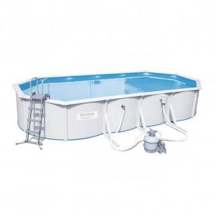 Nadzemny bazen BESTWAY HYDRIUM 740x360x120 cm 5v1 56604 - oceľový celoročný bazén