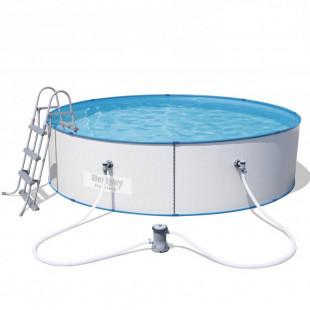 Nadzemny bazen BESTWAY HYDRIUM 360x90 cm 4v1 56377 - oceľový celoročný bazén