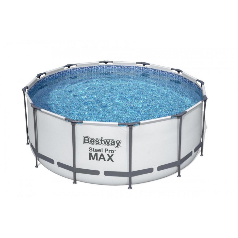BESTWAY Steel Pro Max 366x122 cm + filtrácia 6v1 56420