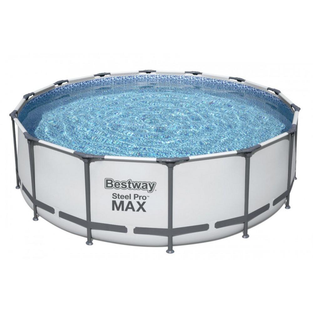 BESTWAY Steel Pro Max 427x122 cm + filtrácia 5612X