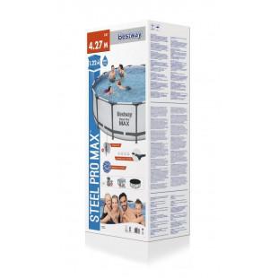 BESTWAY Steel Pro Max 422x122 cm + filtrácia 5612X