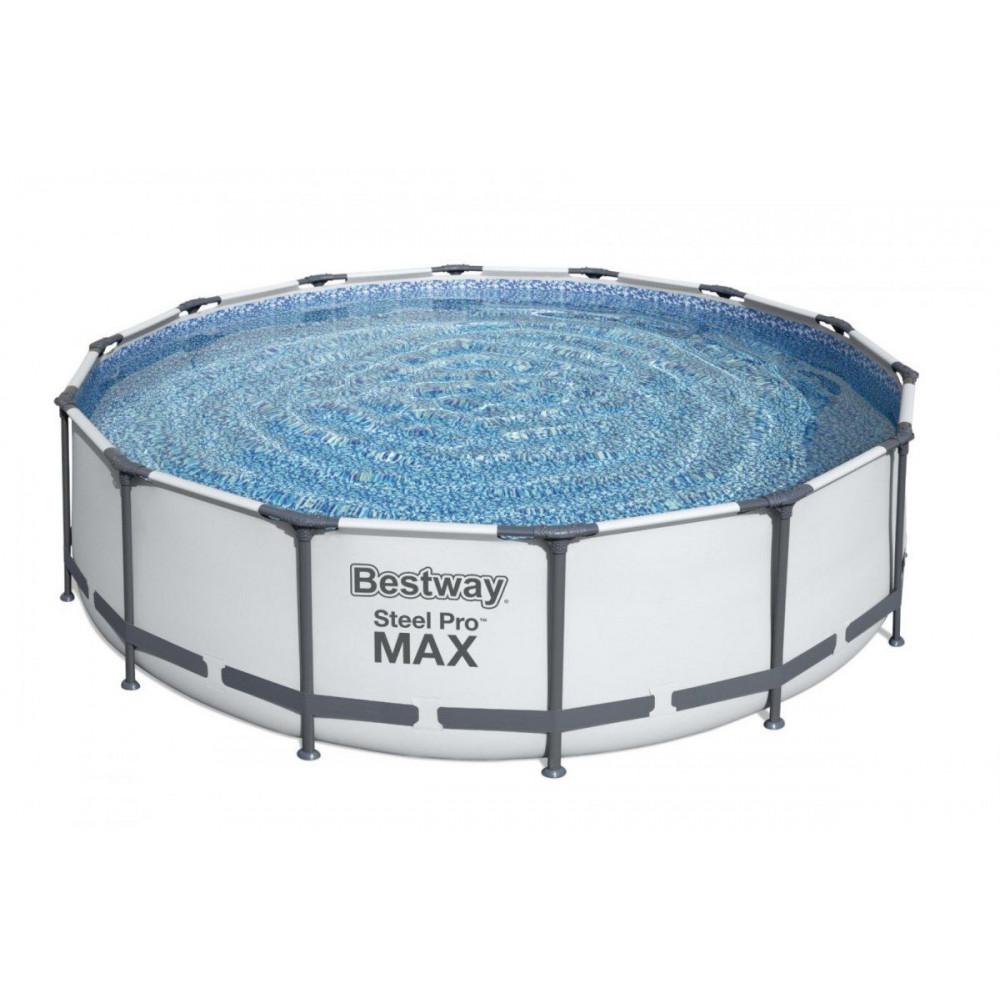 BESTWAY Steel Pro 427x107 cm + filtrácia 56950