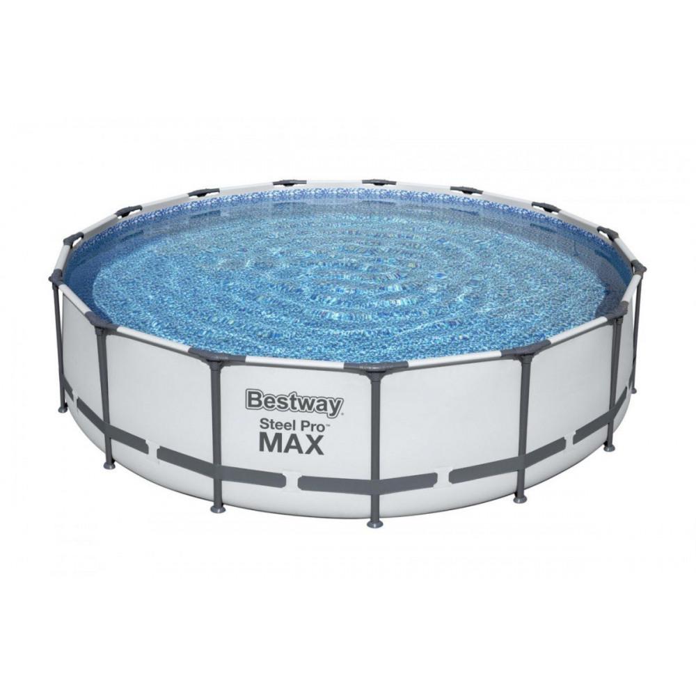 BESTWAY Steel Pro Max 457x107 cm + filtrácia 56488