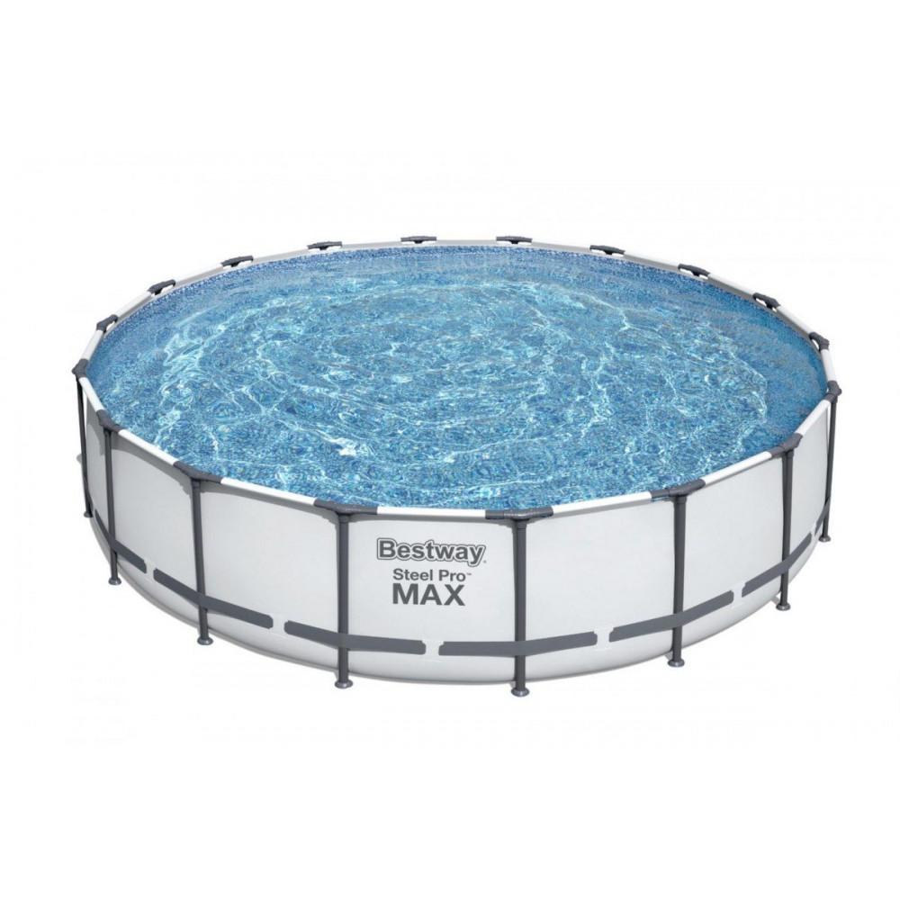BESTWAY Steel Pro Max 549x122 cm + filtrácia 6v1 56462