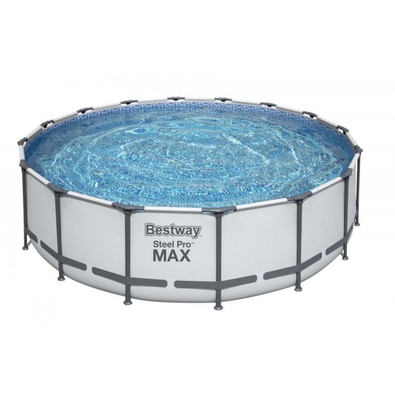 BESTWAY Steel Pro Max 488x122 cm + filtrácia 5612Z