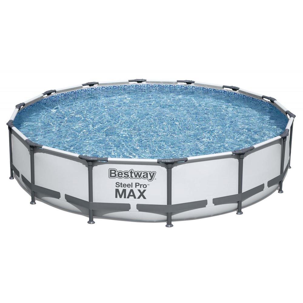 BESTWAY Steel Pro Max 427x84 cm + filtrácia 56595