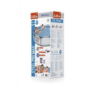 Nadzemny bazen BESTWAY Steel Pro 305x76 cm + filtrácia 3v1 56408