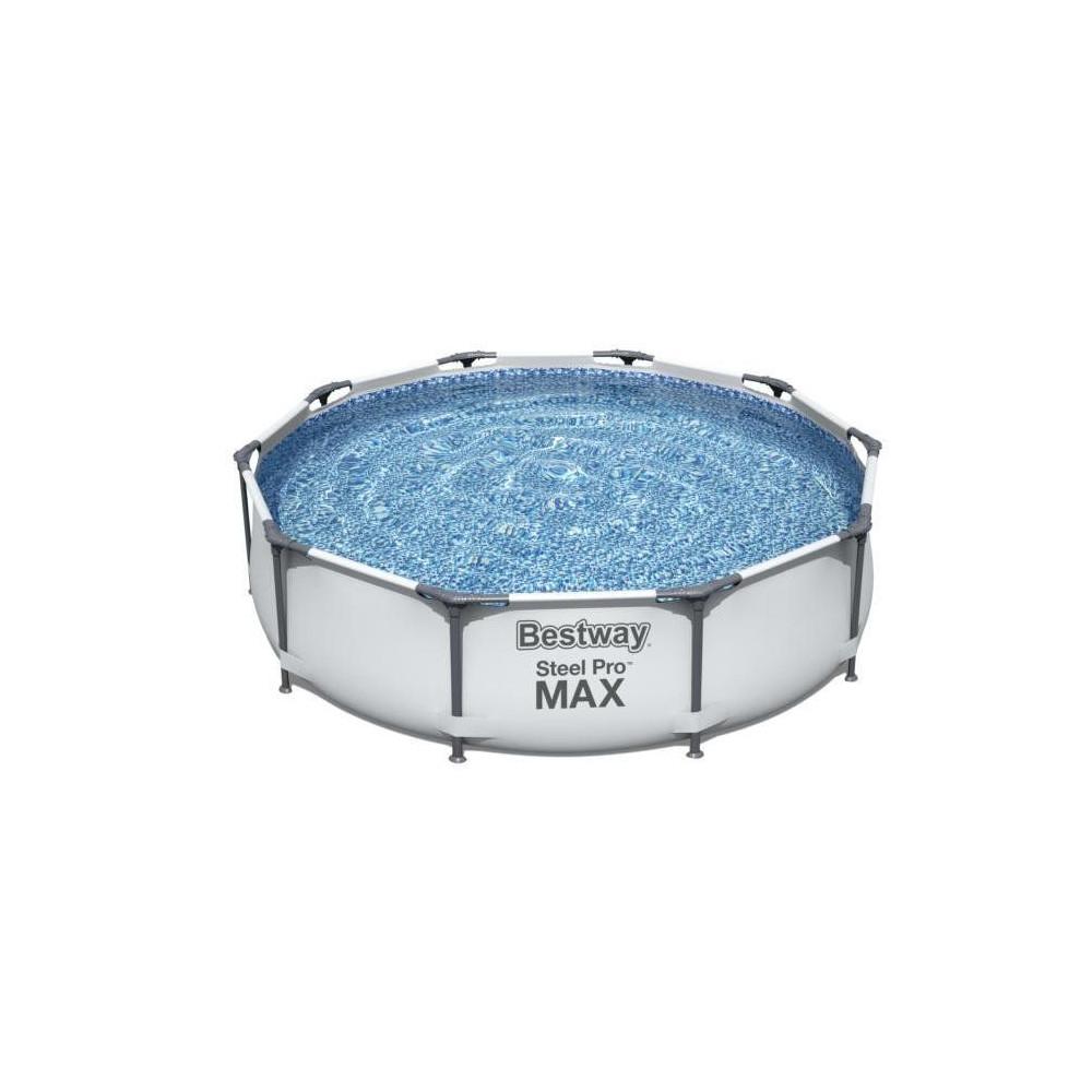 BESTWAY Steel Pro 305x76 cm 3v1 + filtrácia 56408