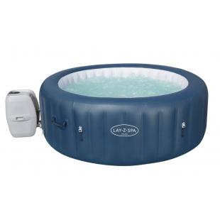 Vírivý bazén s masážnym systémom Lay-Z-Spa od firmy Bestway ponúka relaxáciu celej rodine. Predstavená súprava 3v1 je kombináciou klasického bazénu s SPA a vírivky. Vírivý bazén je určený na vonkajšie aj vnútorné použitie vďaka systému Tri-tech. Vírivku jednoducho rozložíte, nafúknete pomocou bazénovej pumpy a doplníte vodou. Obsahuje výkonný filtračný systém 1325 l / hod. Vírivka obsahuje 1 masážny systém (masáž LAY-Z - masáž bublín), ktoré poskytujú nebývalý komfort a oddych po náročnom dni a poskytne luxus pre každého.