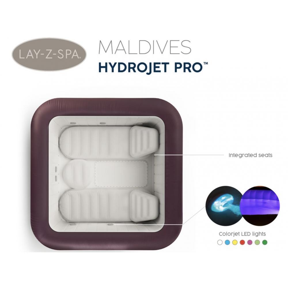Virivka Lay-Z-Spa Maldives Hydro Jet Pro BESTWAY 60033