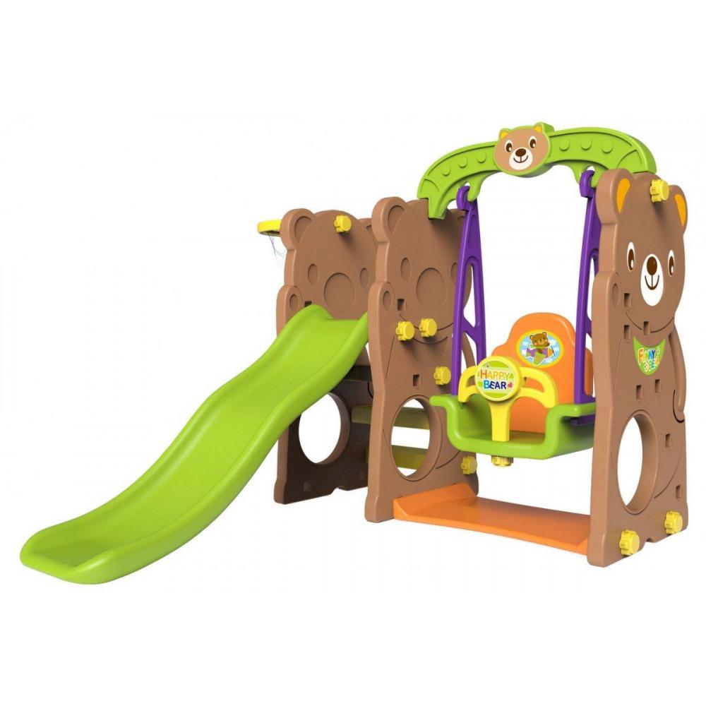 Slide Swing Basketball Teddy 3v1