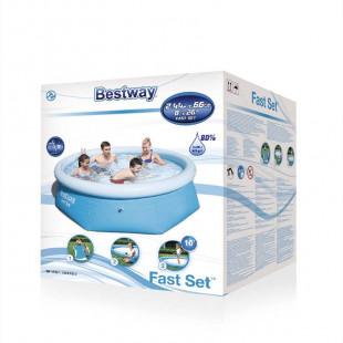 Nafukovaci bazen Bestway Fast Set 2,44x0,66 m 57265