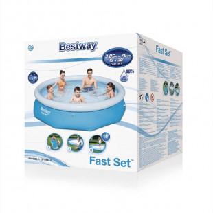 Nafukovaci bazen Bestway Fast Set 3,05x0,76 m 57266