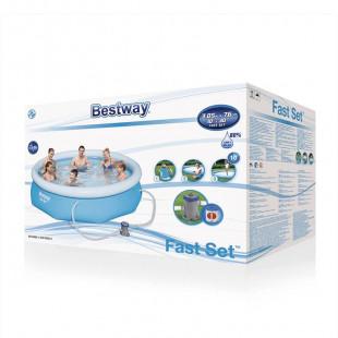 Bestway Fast Set 3,05x0,76 m 4v1 + kartušová filtrácia 57270