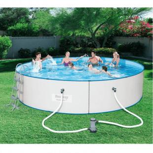 Nadzemny bazen BESTWAY HYDRIUM 488x107 cm 4v1 56607 - oceľový celoročný bazén