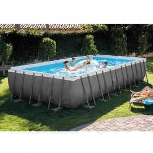Nadzemny bazen INTEX ULTRA XTR FRAME POOL 732x366x132 cm + piesková filtrácia so systémom slanej vody 26368NP